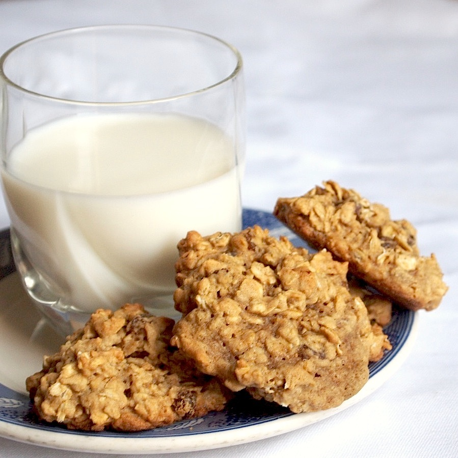 Oatmeal Cookie Recipe With Old Fashioned Oats
