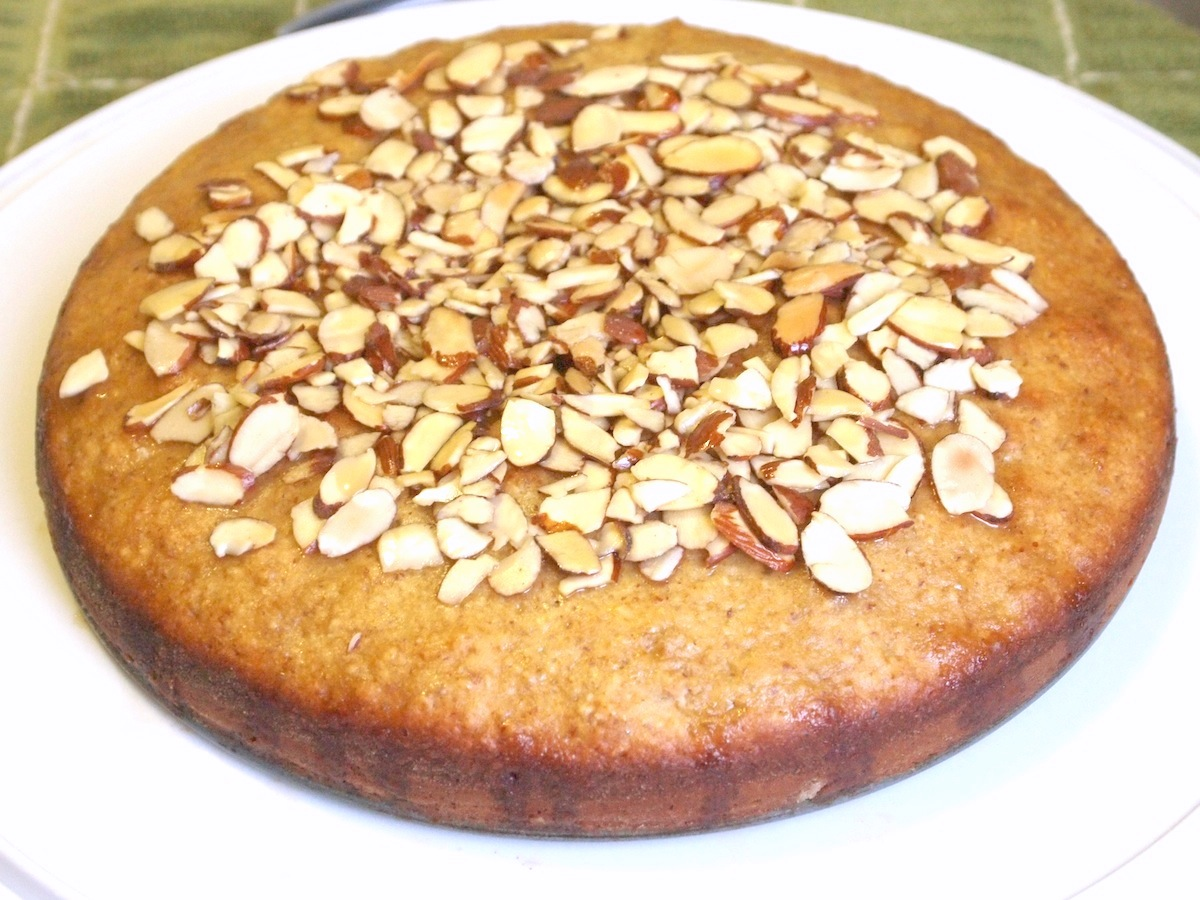 Act V: Almond-Olive Oil Cake with Sweet Wine Syrup - Cookbook ...